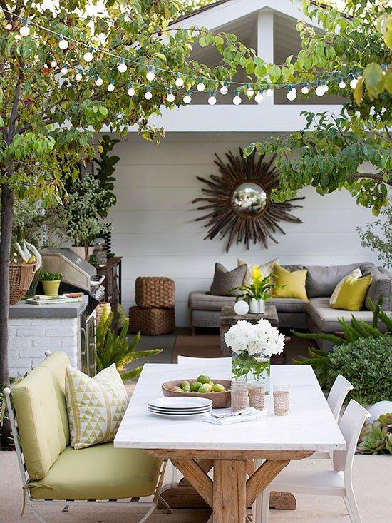 veranda s barbekiu