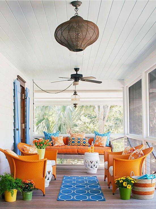 ideq za veranda s mnogo cvqt