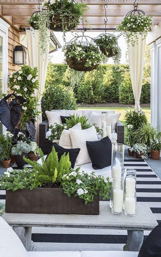 ideq za veranda s mnogo cvetq