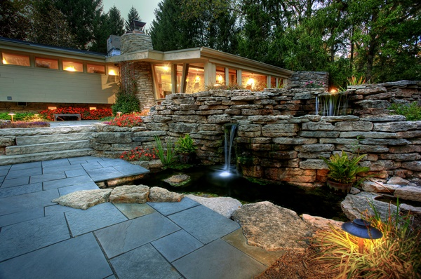 ezera v gradinata