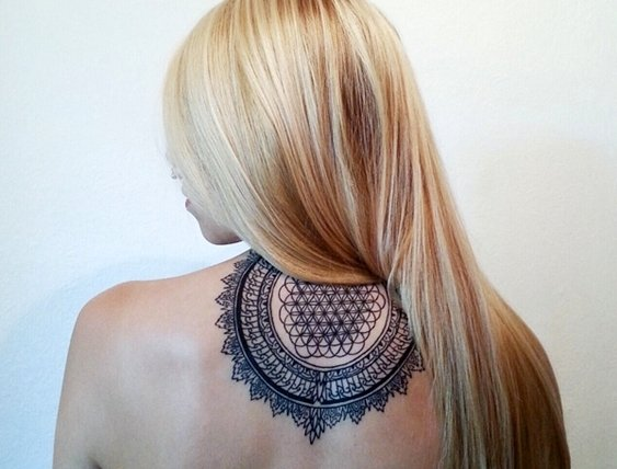 татуировки мандали