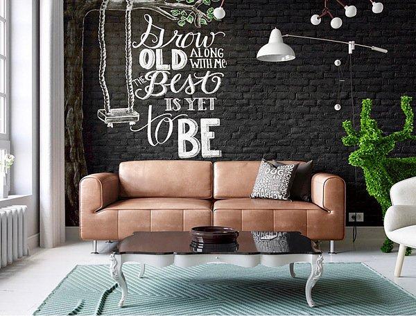 dekor za stenata ot tuhli