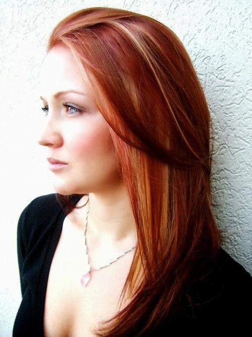 червена коса