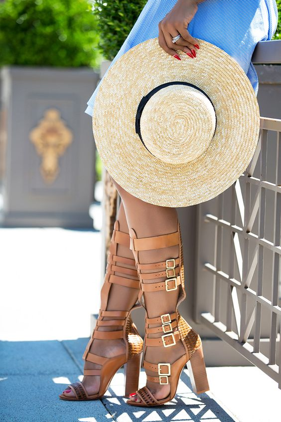 gladiatorski sandali na tok za lqtoto nachini na nosene