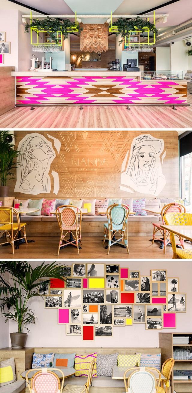 interioren dizain na zavedeniq kafeneta