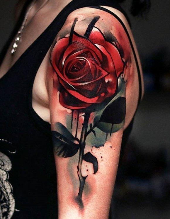 tatuirovkа s roza