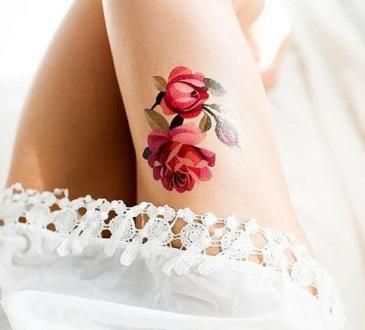 татуировки с роза