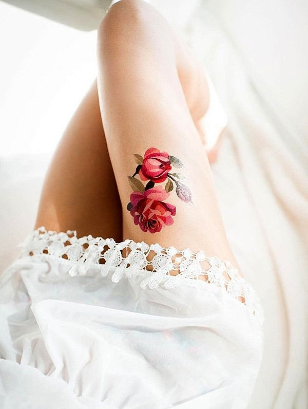 tatuirovkite s roza