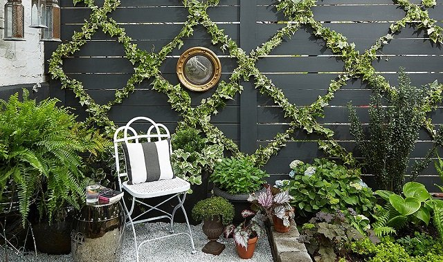 dekorativna stena s jiv plet ot brushlqn napravi si sam