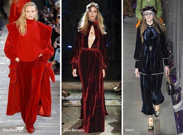 modni tendencii esen zima 2017 2018 kadife
