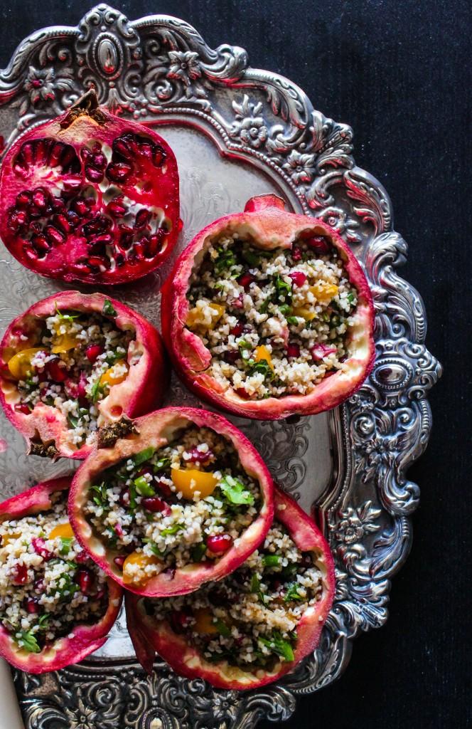 recepta za tabule salata s bulgur i nar