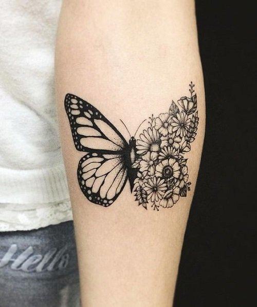tatuirovka za jeni peperuda
