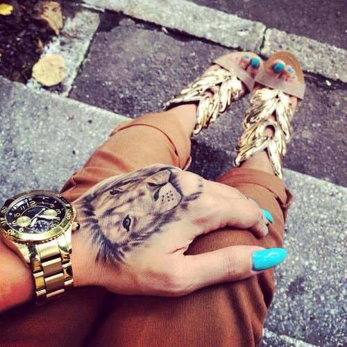 tatuirovka luv za ruka za jeni