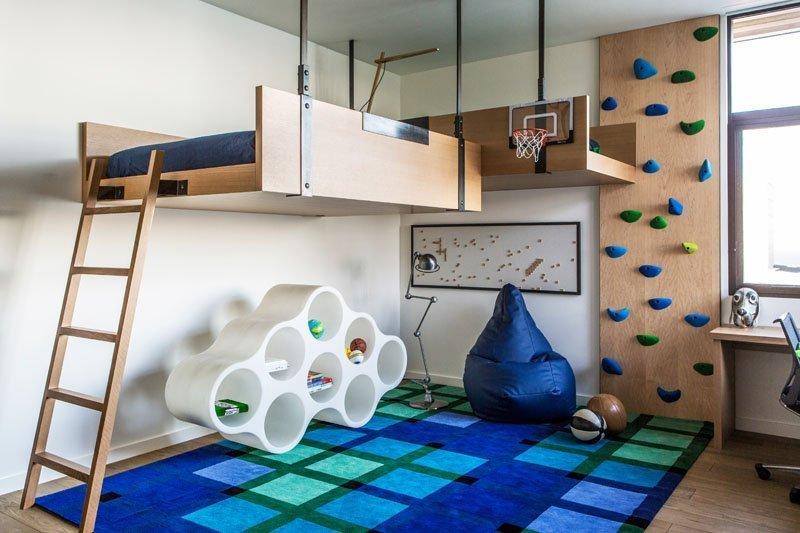 moderen interioren dizain na detska staq