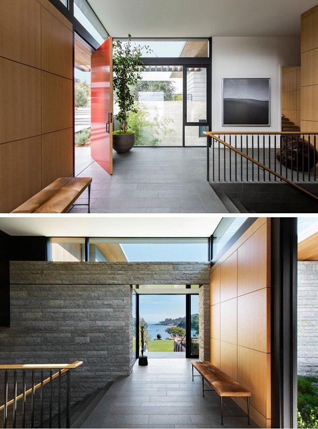 moderen interioren dizain na dvuetajna kushta