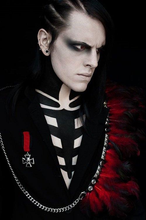 grim za helouin za muje vampir