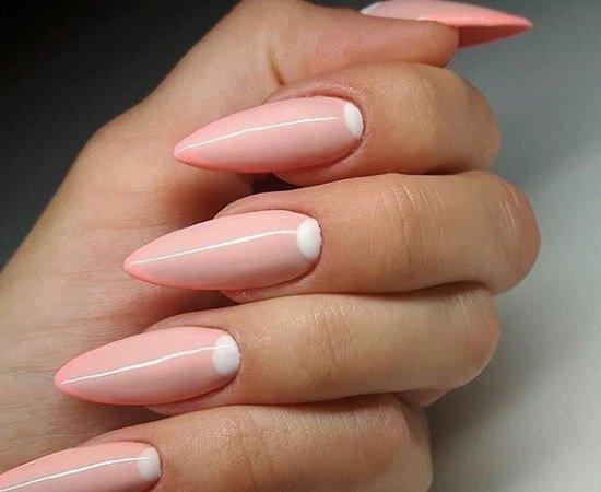 ostur manikur za dulgi nokti
