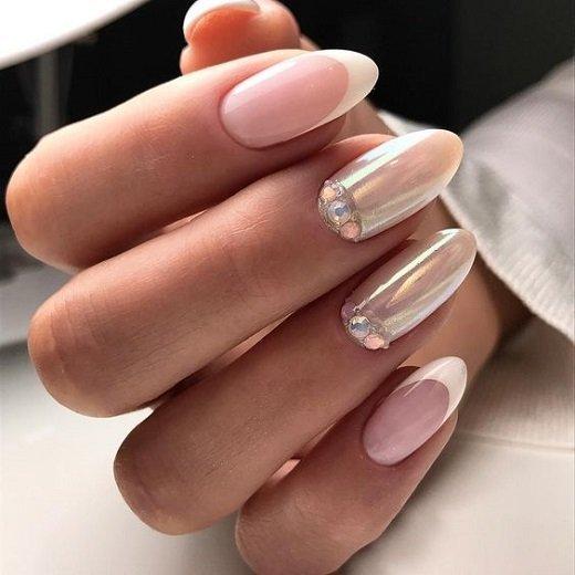 frenski manikur za dulgi nokti