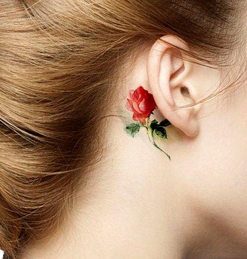 malki tatuirovki roza