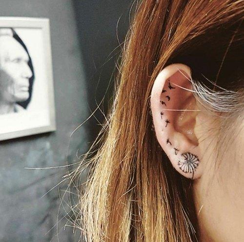tatuirovki gluharche uho