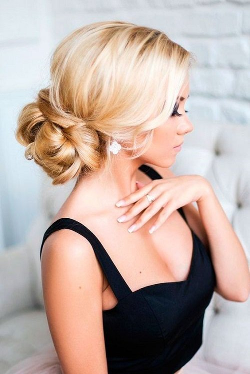 balna pricheska s pribrana kosa