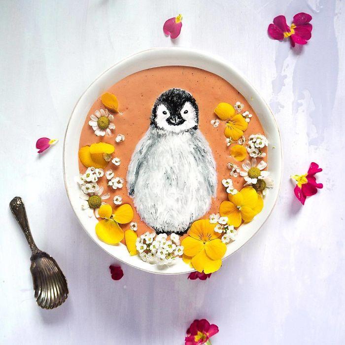 smuti risunki pingvin