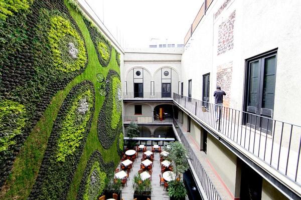krasivi steni green walls