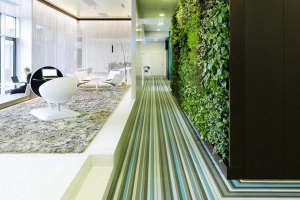 zelena stena rasteniq