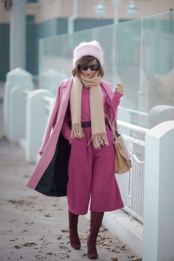 rozovo dulgo zimno palto