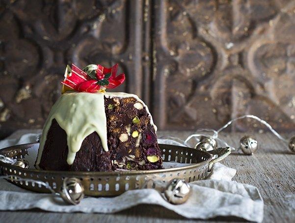 коледен шоколадов сладкиш