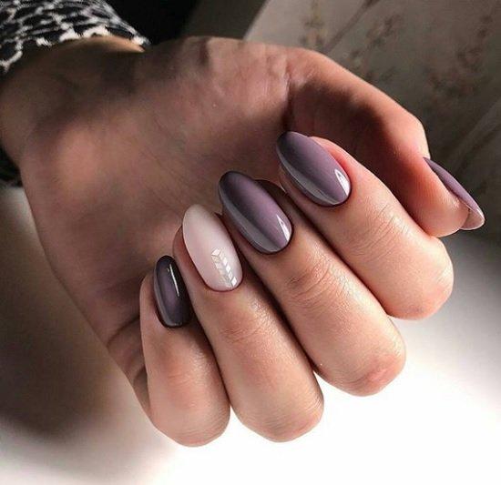 nokti badem manikur sempul