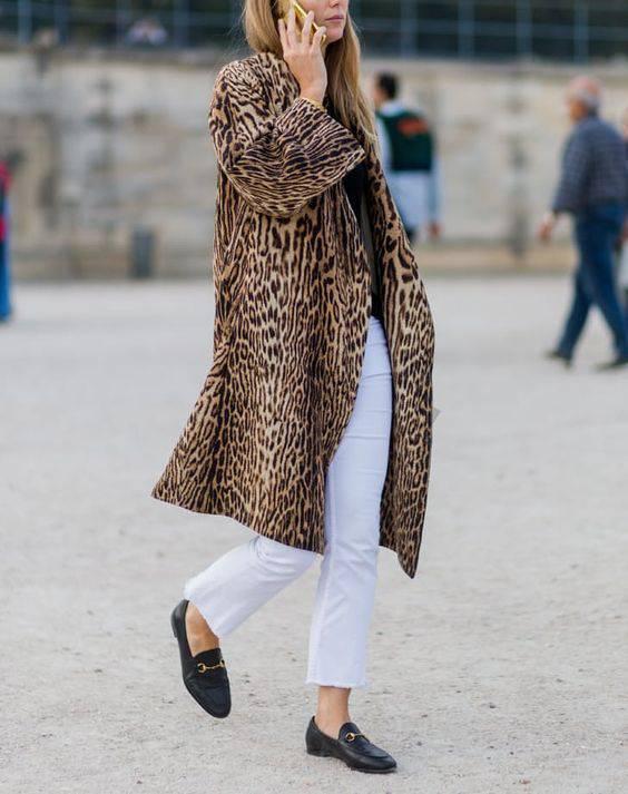 jivotinski print leopardovo palto