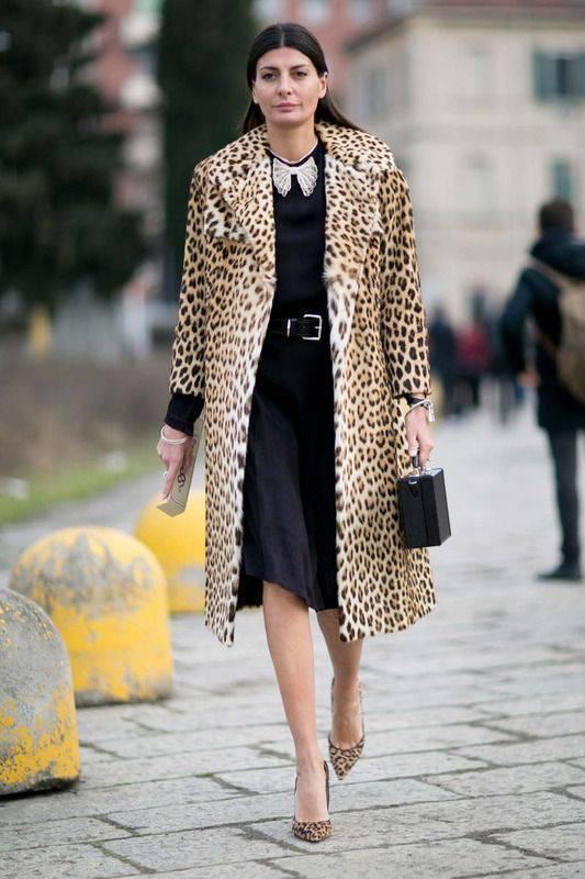 jivotinski print leopardovo dulgo palto