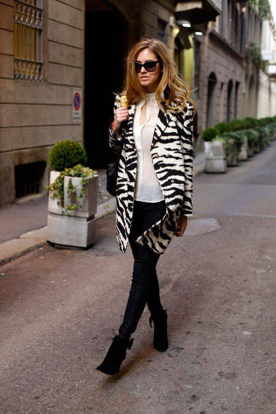 zebrovo palto