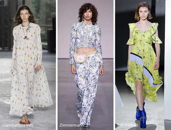 modni tendencii prolet lqto 2018