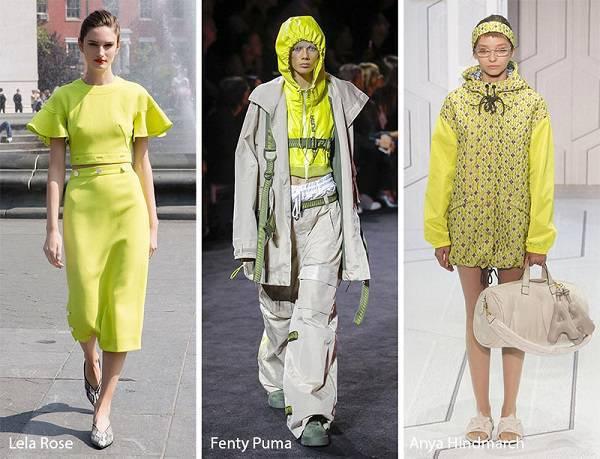 modni tendencii cvetove prolet lqto 2018