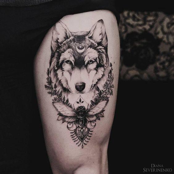 татуировка вълк значение