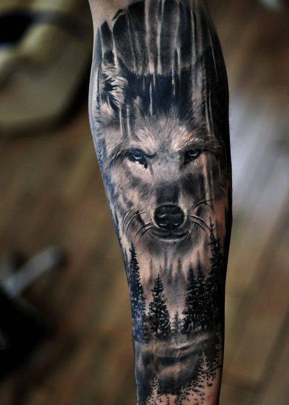 vulk tatuirovka simvolika