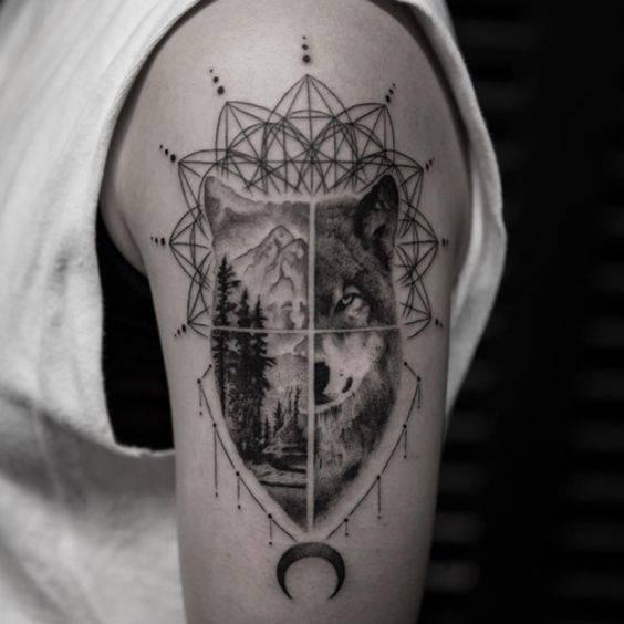 tatuirovka vulk znachenie
