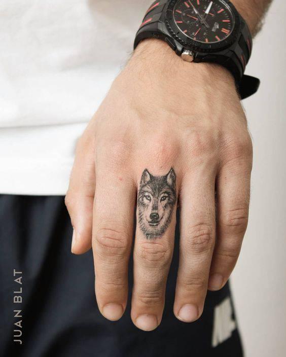 татуировка вълк символика