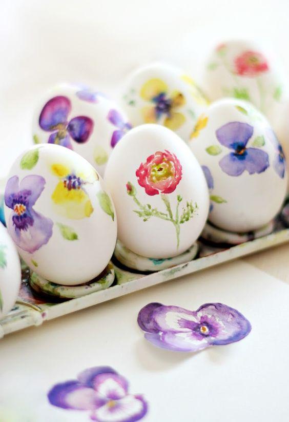 Украса на Великденски яйца – 40 идеи