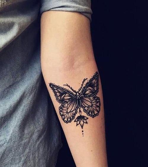 tatus peperuda za ruka
