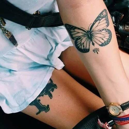 tatuirovka peperuda za ruka