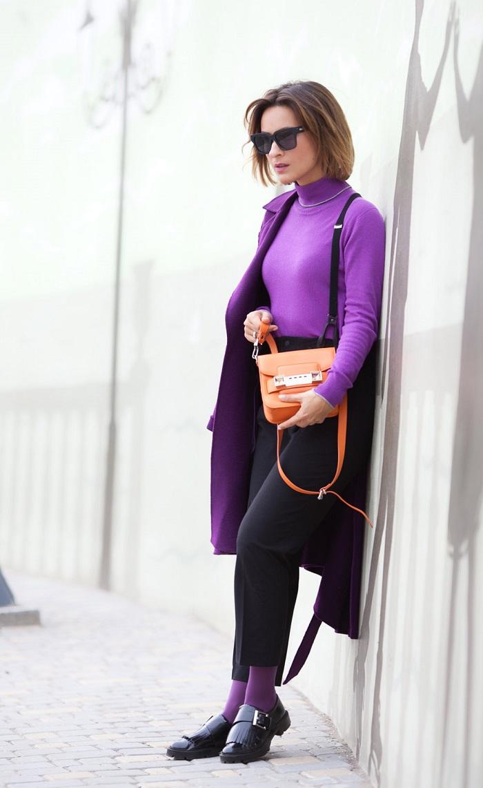 kak da nosim cvetat na godinata ultraviolet