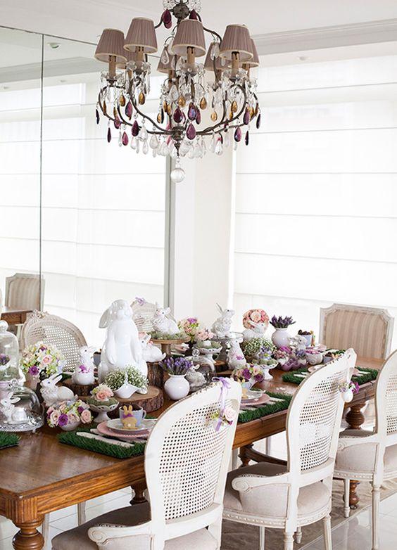великденска украса за маса