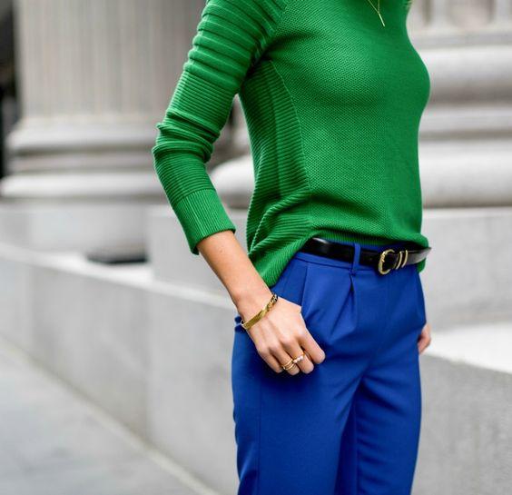 zelen pulover