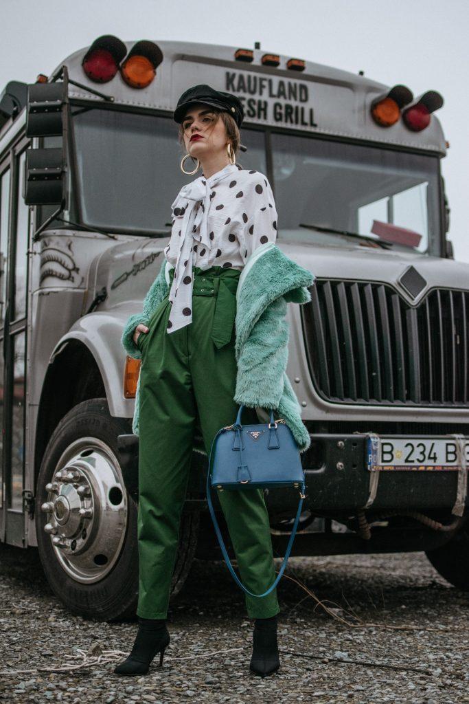 zelen pantalon