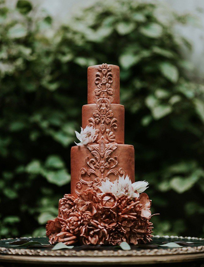 shokoladovi svatbeni torti