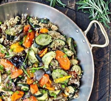 рецепта за киноа със зеленчуци