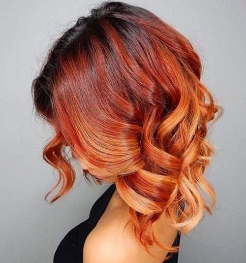 oranjeva kosa